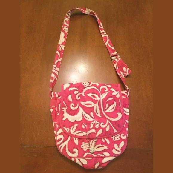 GAP Handbags - GAP Pretty Pink & White Floral PURSE